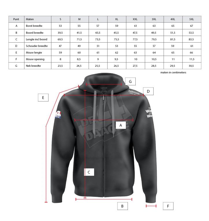 Hoody-Grey-Zipper 4Daagse
